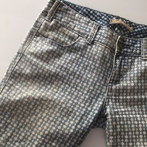 Free People Jeans - FREE PEOPLE Patterned Skinny Jeans